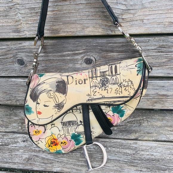 Dior Handbags - Limited edition Christian Dior Vintage saddle bag